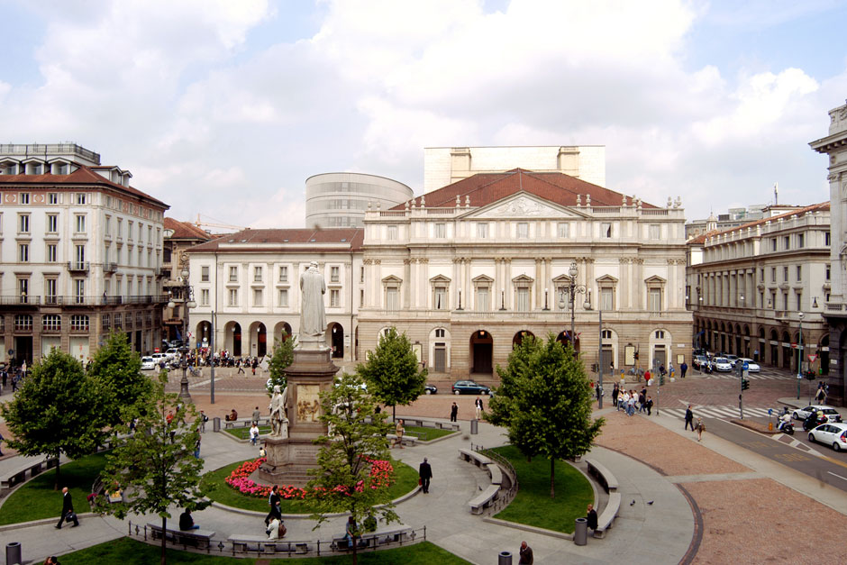 Scala Theatre in Milan