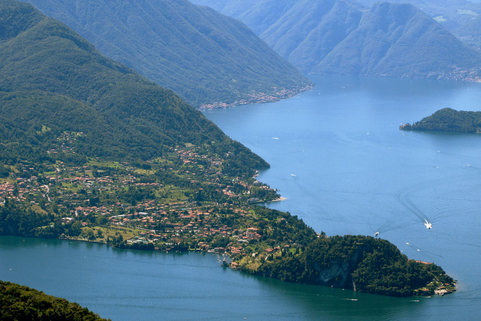 Helicopter Experience over Lake Como